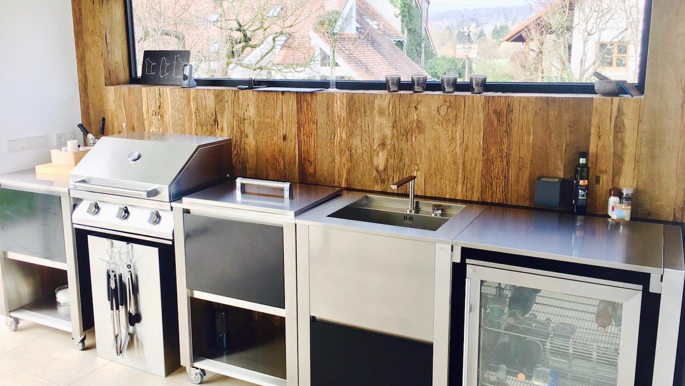 Cinq conseils pour aménager une cuisine extérieure - Madame Figaro
