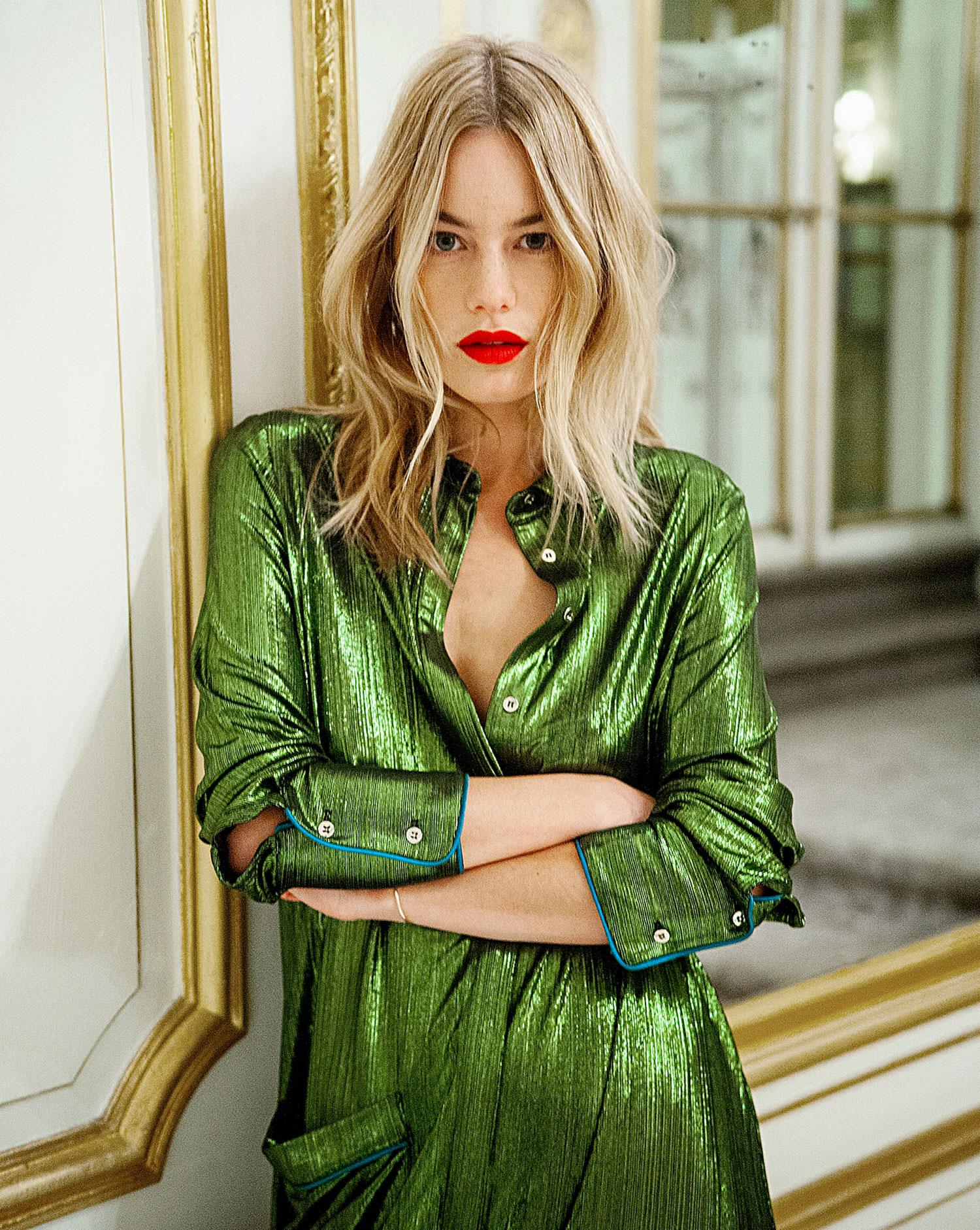 1582b627b1b La leçon de mode de Camille Rowe - Madame Figaro
