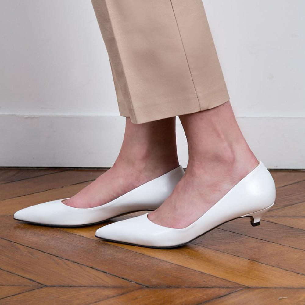 De Chaussures Les La Se PointuesBlanchesLacées Rentrée 3L4jRc5Aq