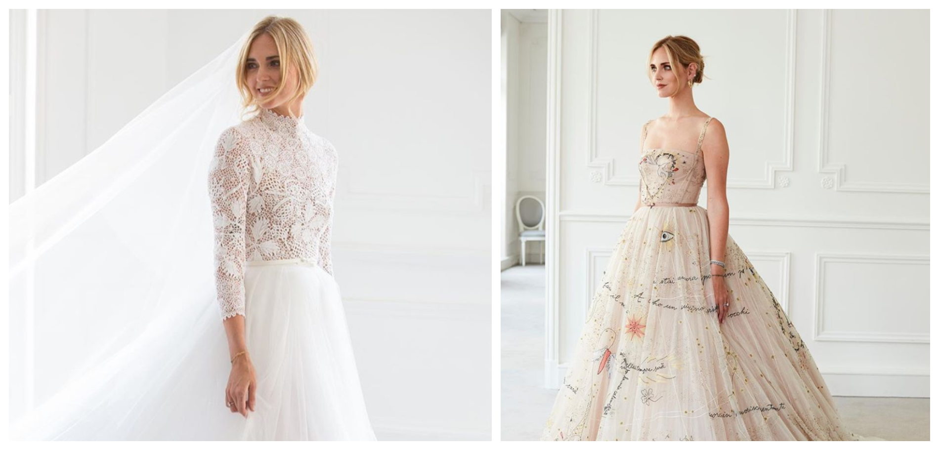 Pourquoi La Deuxieme Robe De Mariee Dior De Chiara Ferragni