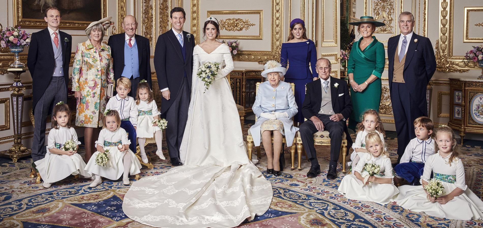 Les photos officielles du mariage de la princesse Eugenie d\u0027York et de Jack  Brooksbank ont été dévoilées. Elles sont signées du photographe britannique  Alex