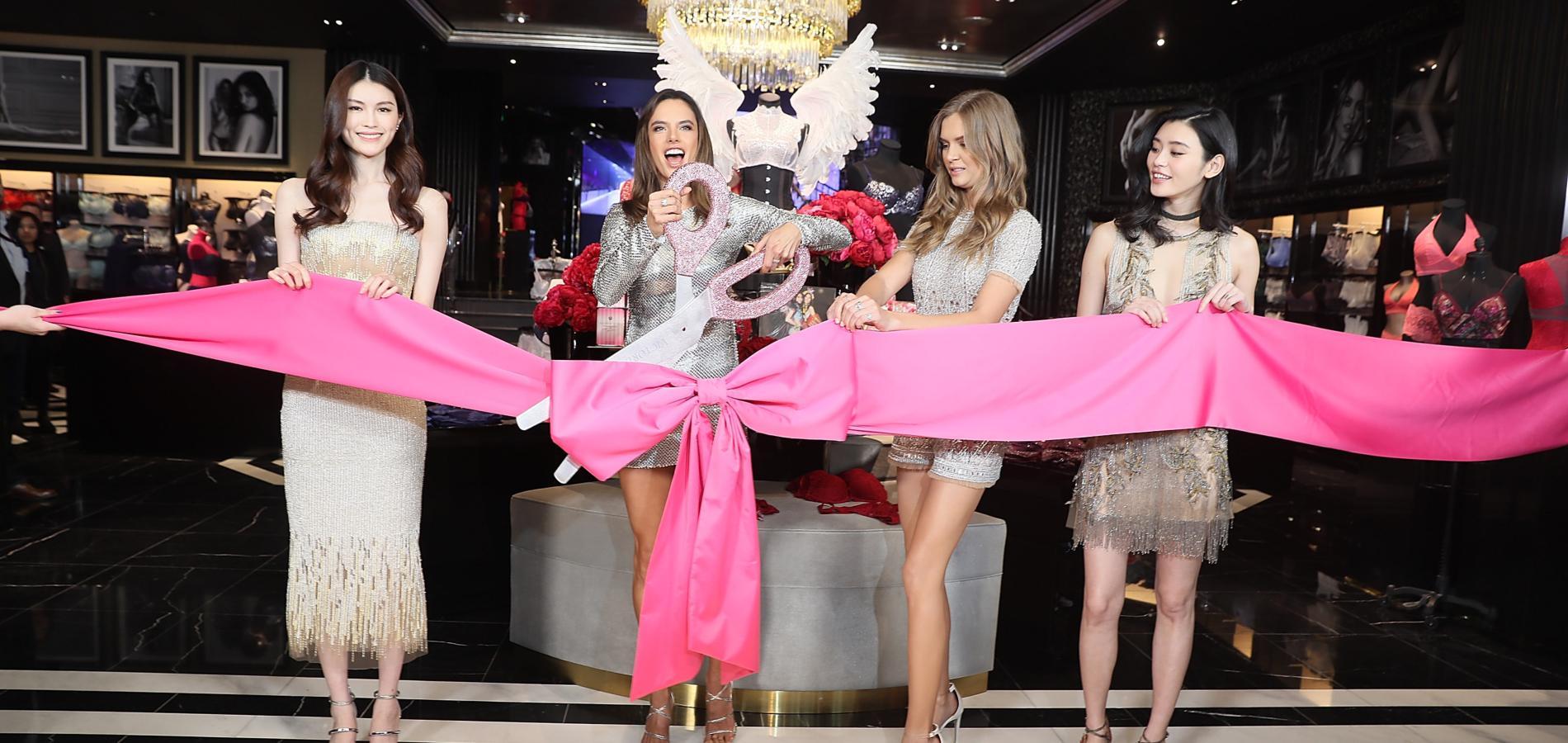 4c3c772f4934a Victoria s Secret s apprête à implanter sa première boutique dans la  capitale française. (He Sui