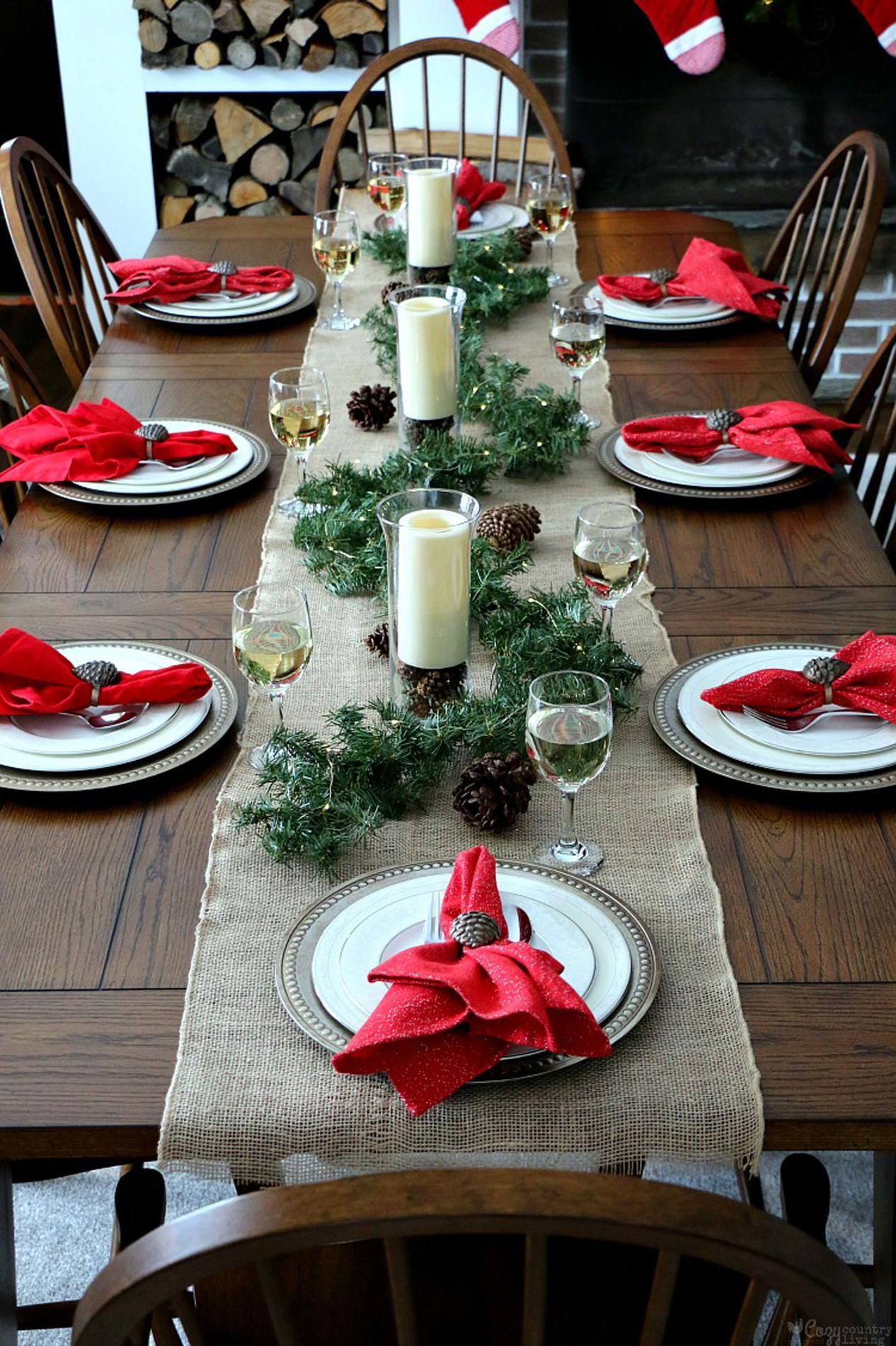 Douze tables de f tes last minute rep r es sur pinterest cuisine madame figaro - Table cuisine pin ...