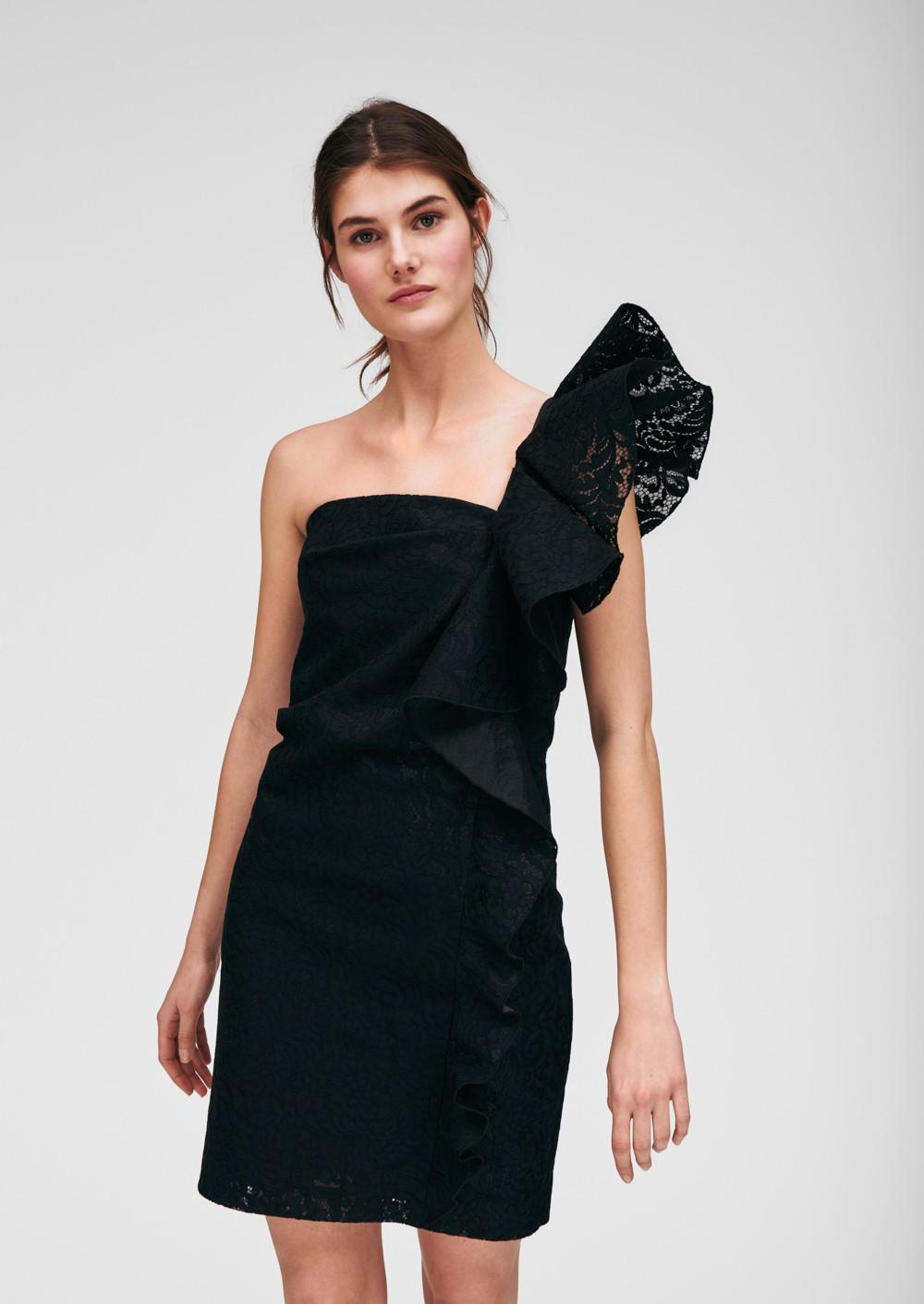6d9b3c30676 ... Notre sélection de robes noires pour les fêtes de fin d année - Tara  Jarmon ...