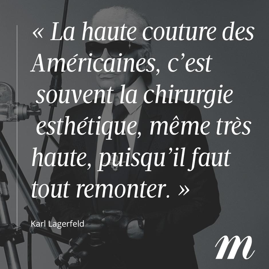Karl Lagerfeld Les Citations Dont On Se Souviendra