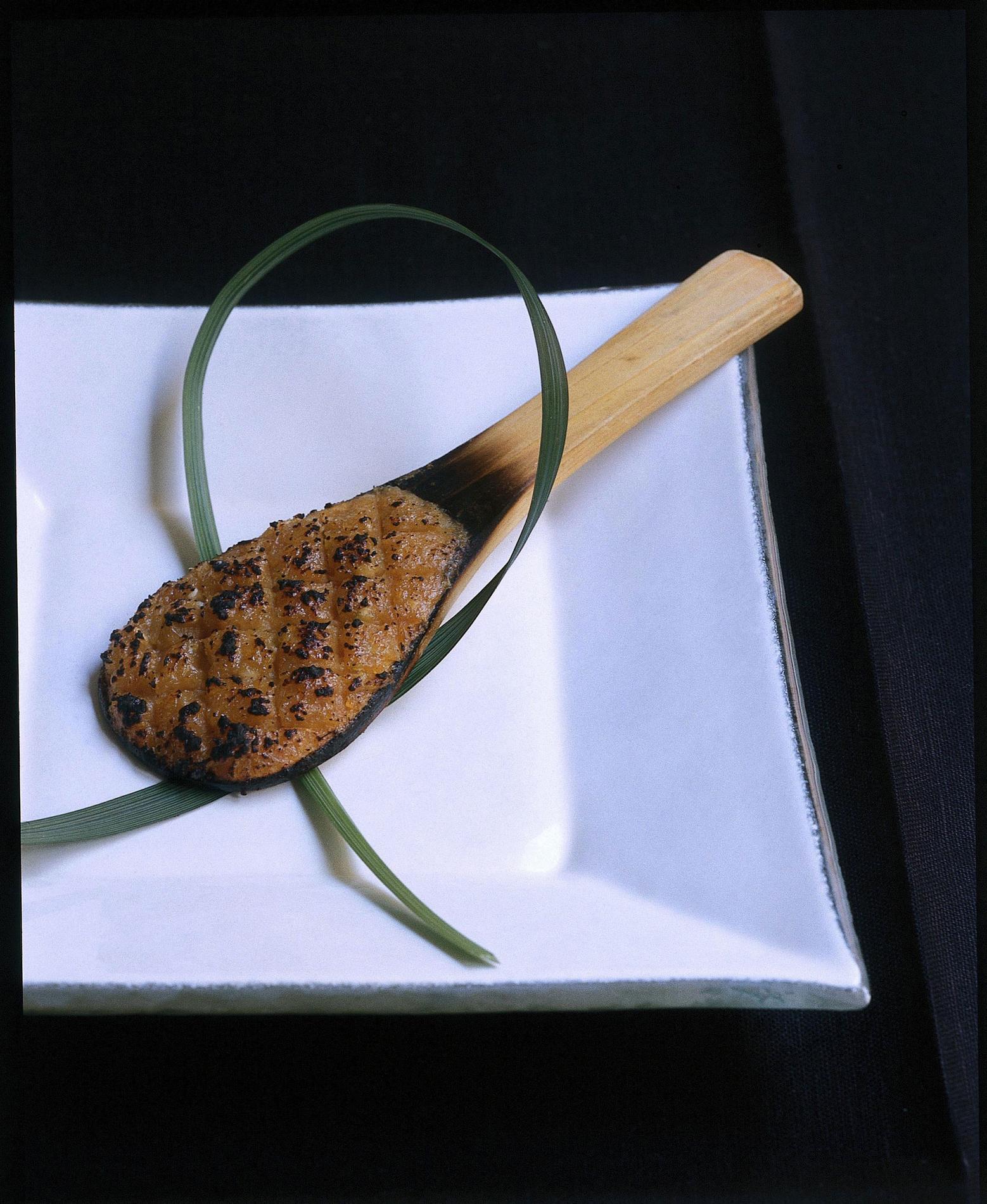Sobamiso au kumquat et à la pâte de miso
