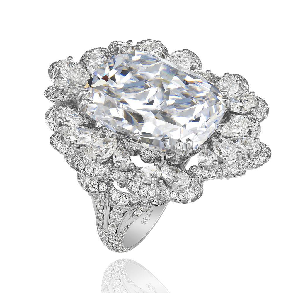 bague diamant bleu chopard