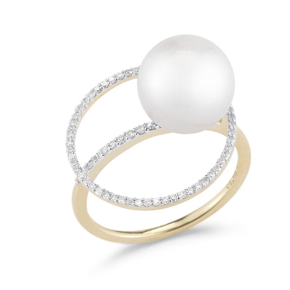 bague de fiancaille femme perle