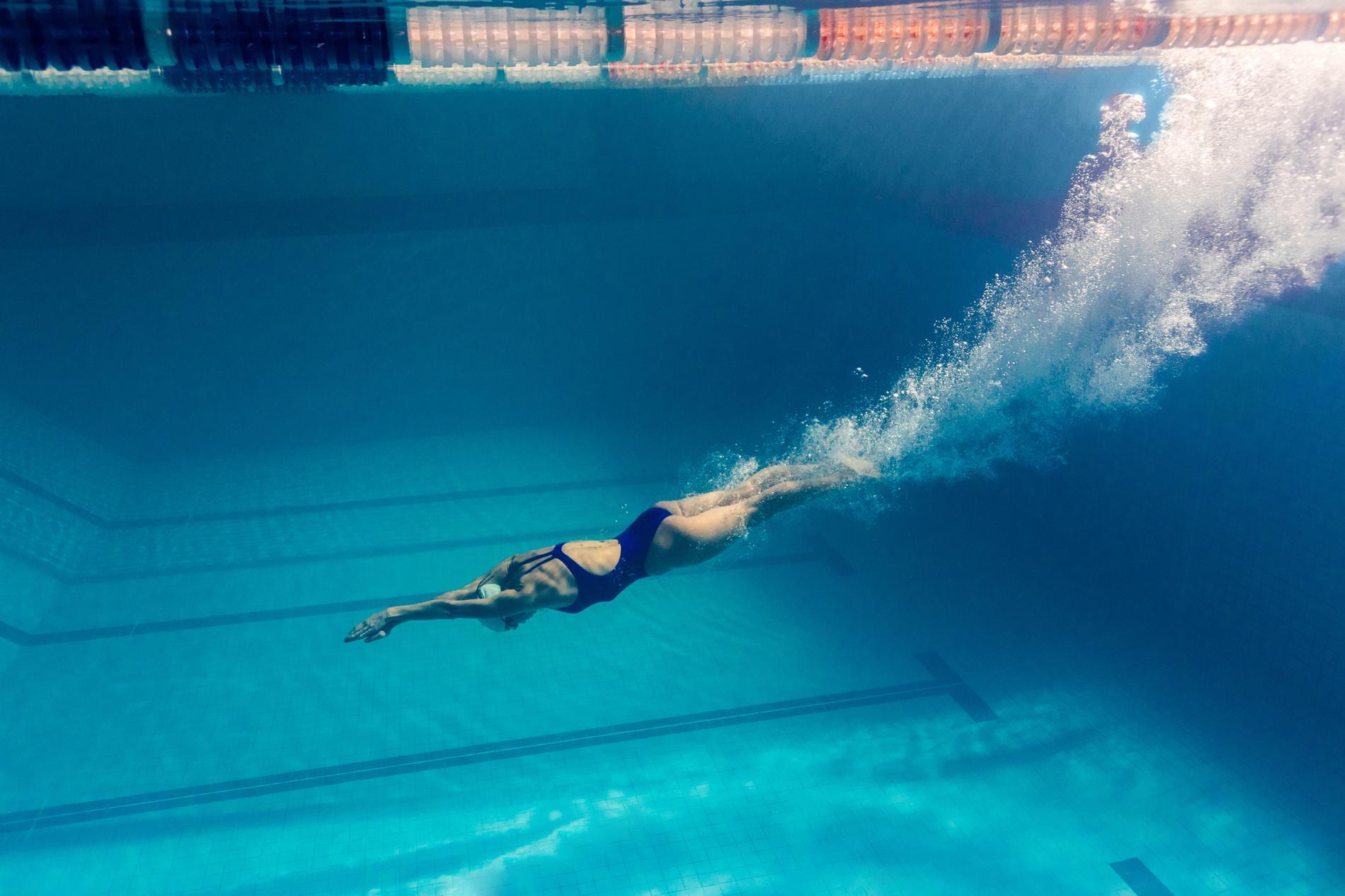 La natation, l'ultime sport pour un corps
