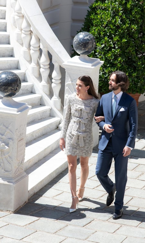 Mariage de Charlotte Casiraghi  ses tenues inspirées de sa grand,mère  Grace Kelly