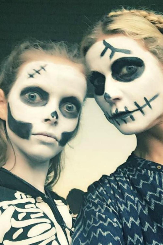 Halloween 20 Idees De Maquillage Pour Petits Et Grands Inspirees Des Stars Madame Figaro