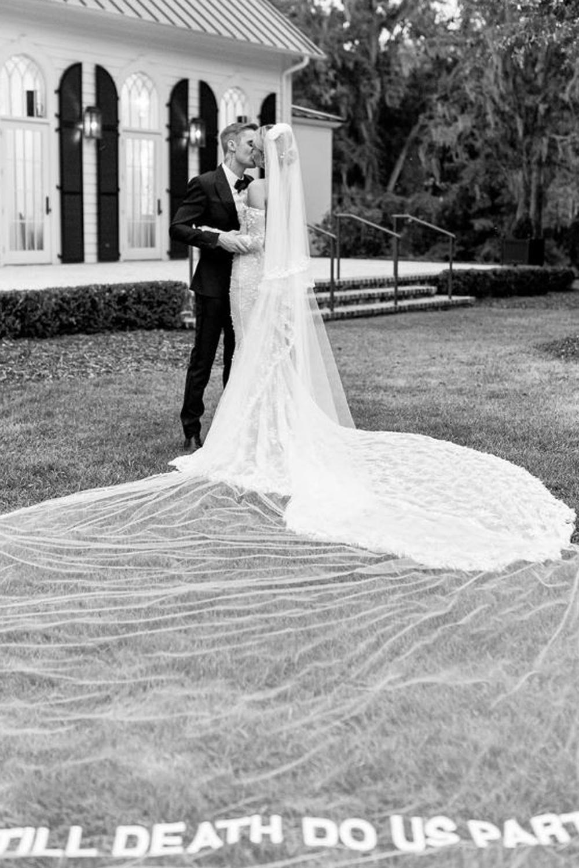 Les photos du mariage religieux de Justin Bieber et Hailey