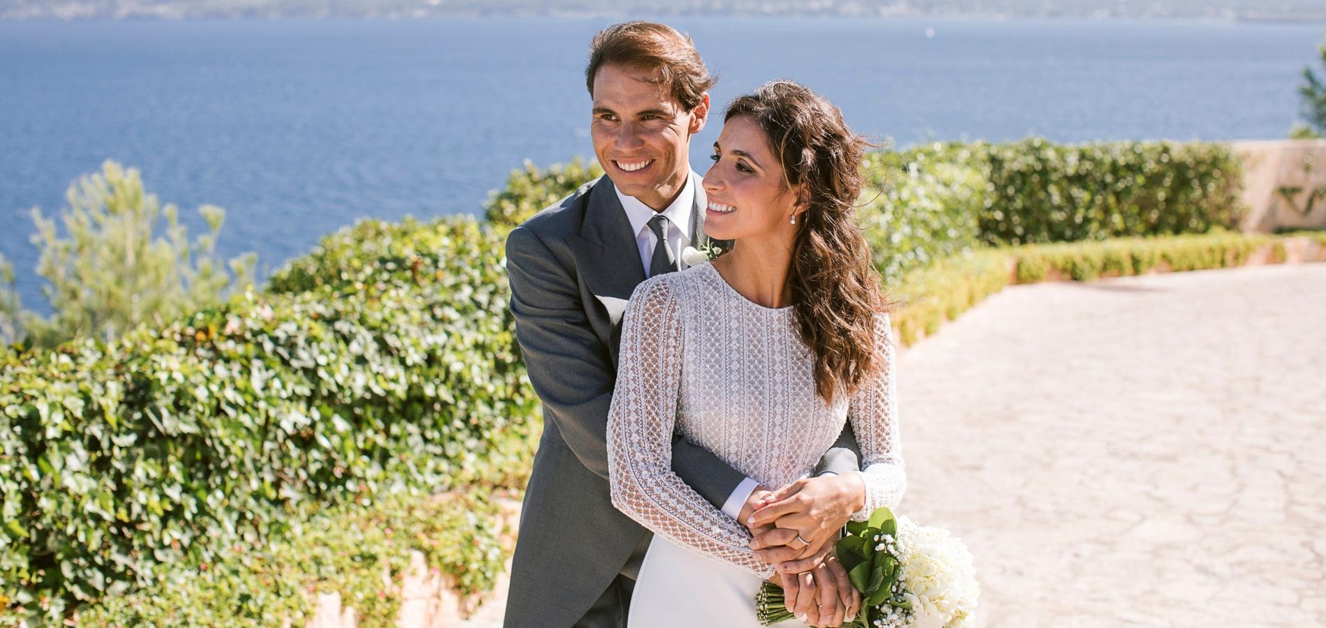 Les premières photos du mariage de Rafael Nadal et Mery