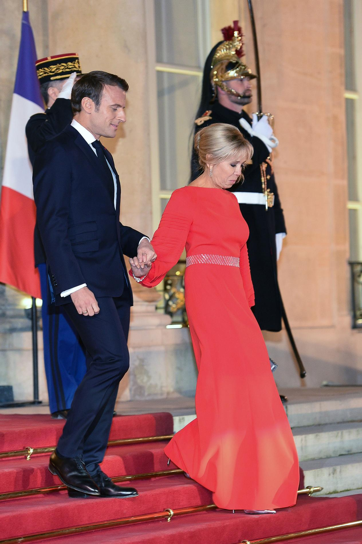 En photos, les plus belles tenues de Brigitte Macron en ...