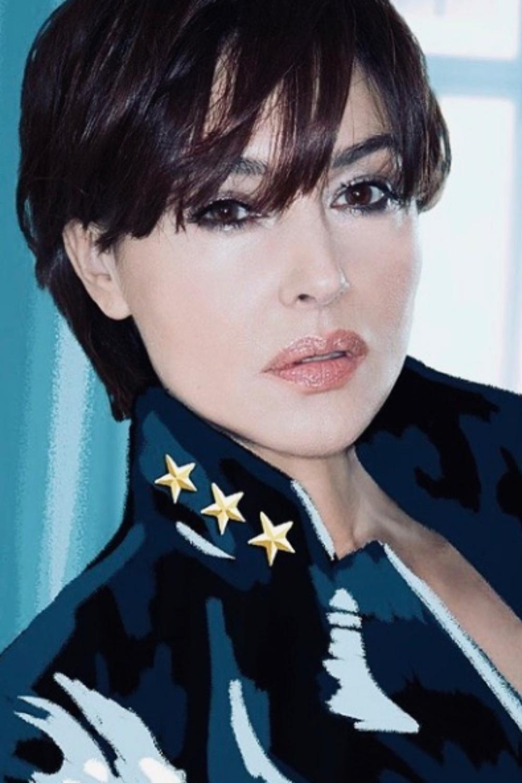 Monica Bellucci Plus Belle Que Jamais Avec Sa Nouvelle Coupe A La Garconne Madame Figaro