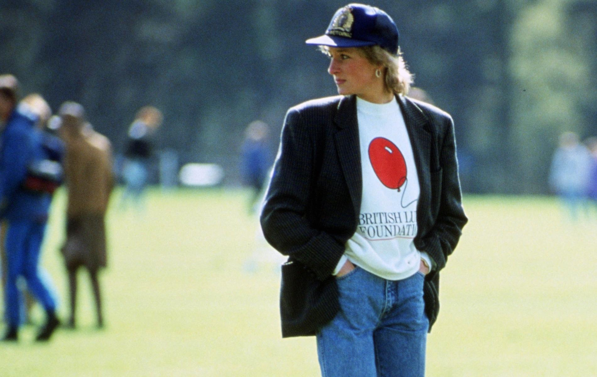 Santiags, blazer, sweat Lady Di en 1990 ou le parfait