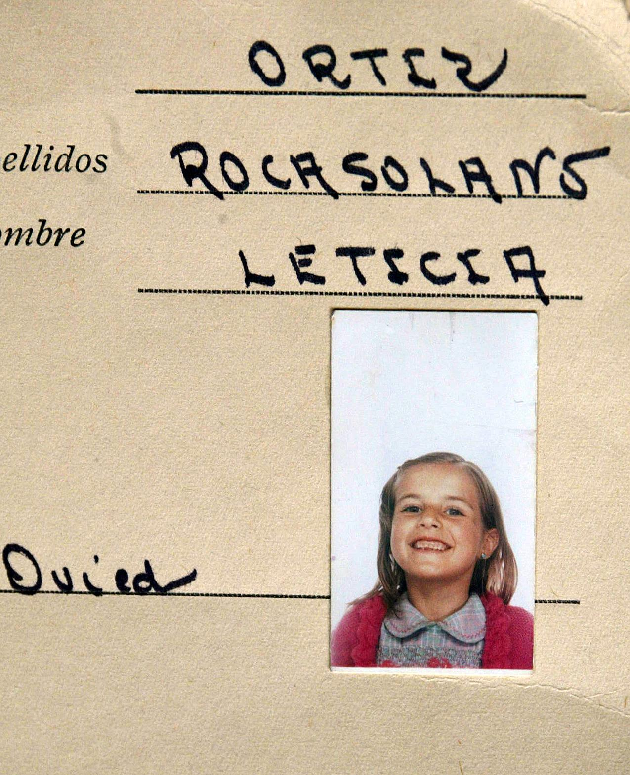Letizia enfant