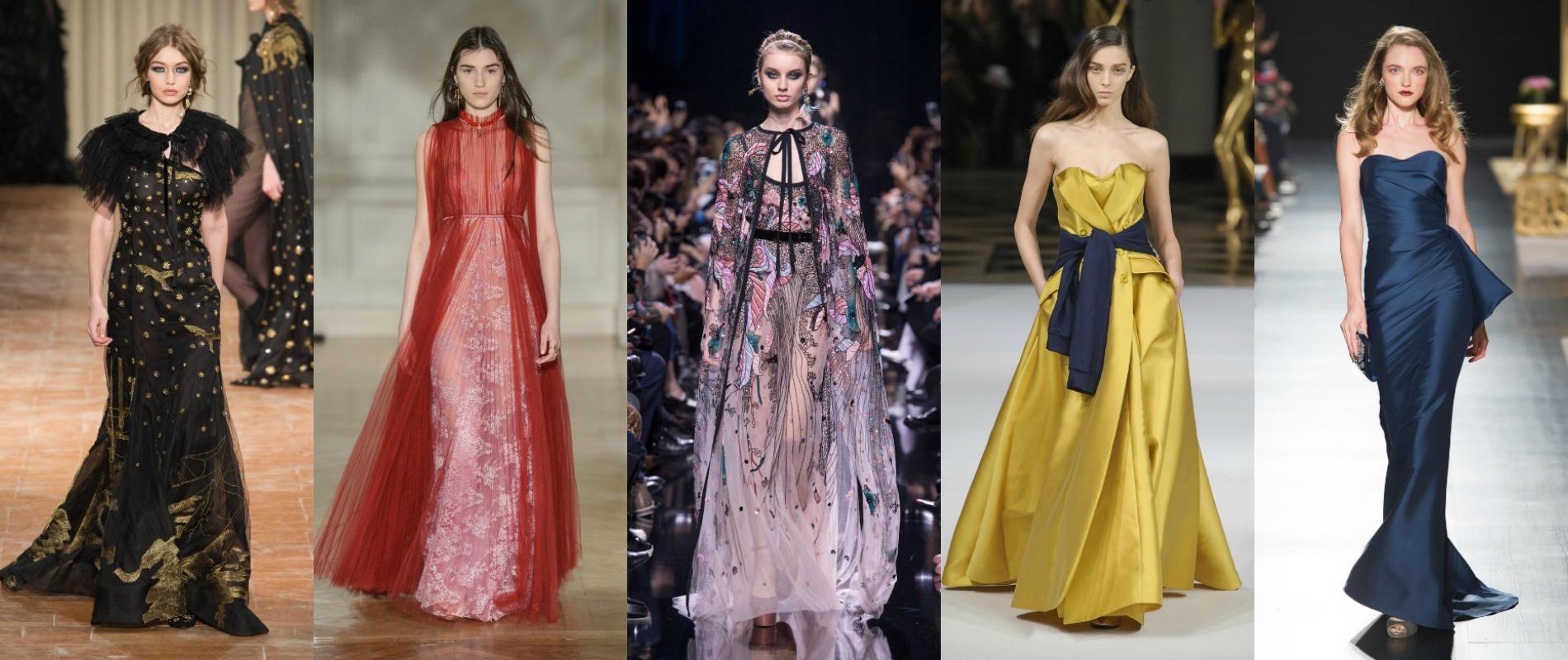 Les robes du soir font rêver les podiums (et nous avec) 67fe06d8330