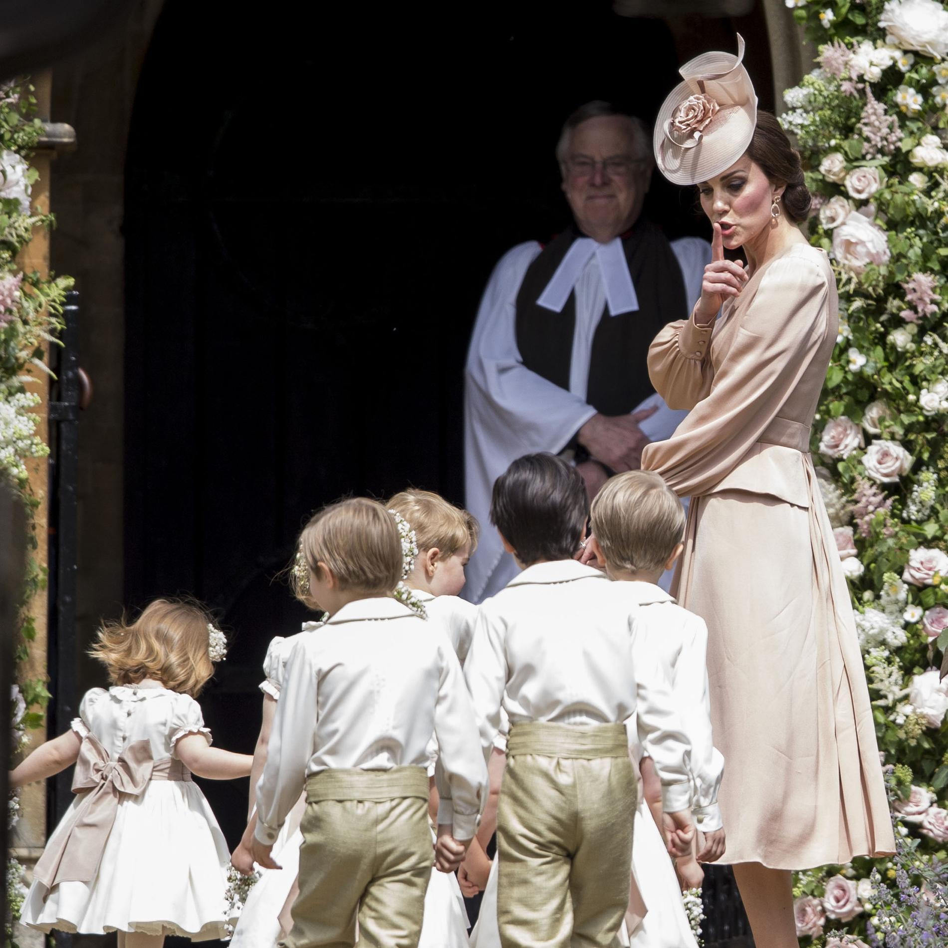 Kate Middleton : mère attentive et sœur bienveillante