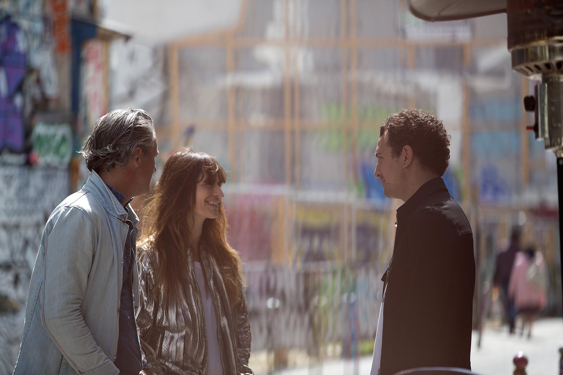 Mathieu Terence, Caroline de Maigret, Boris Bergman