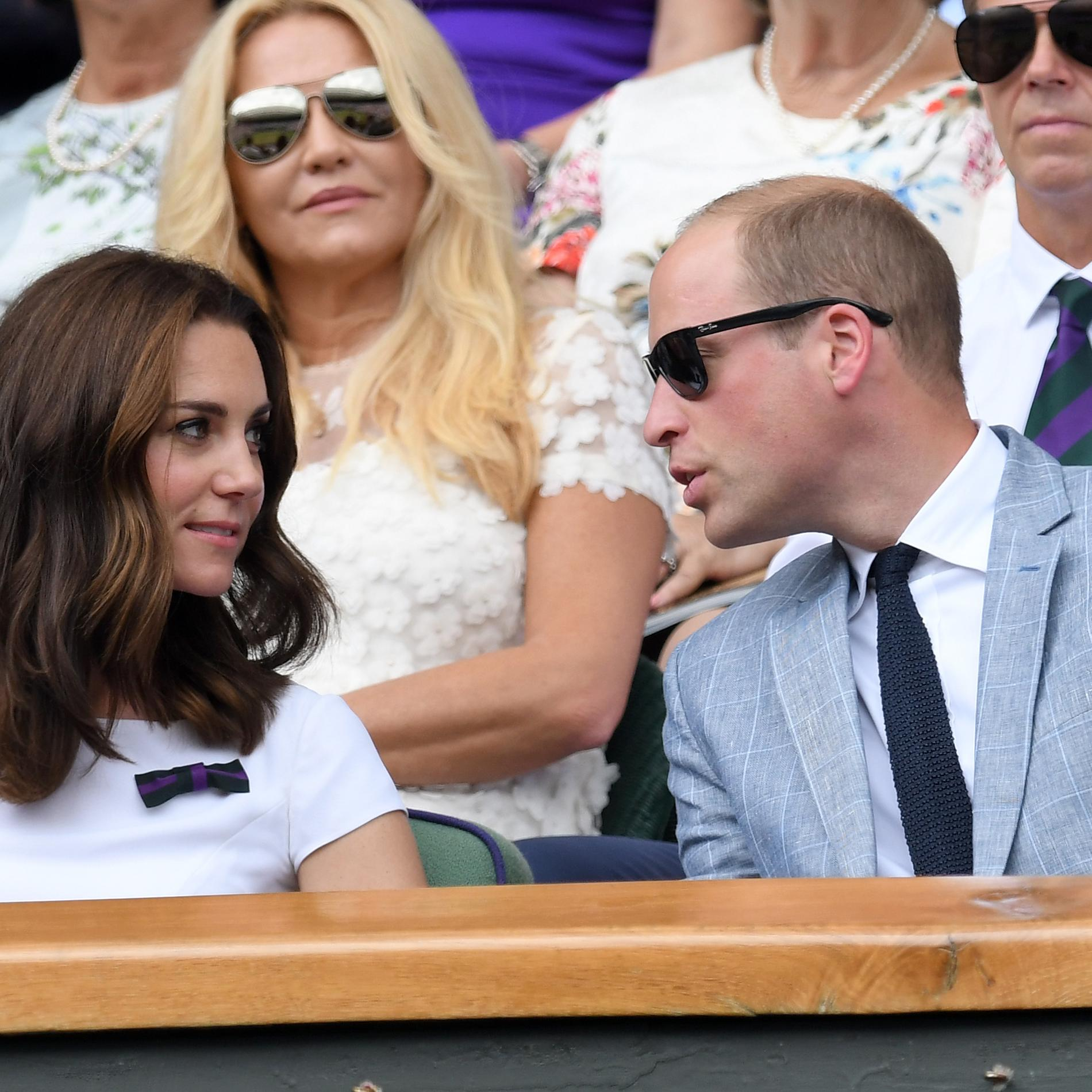 Kate et William, très amoureux à Wimbledon