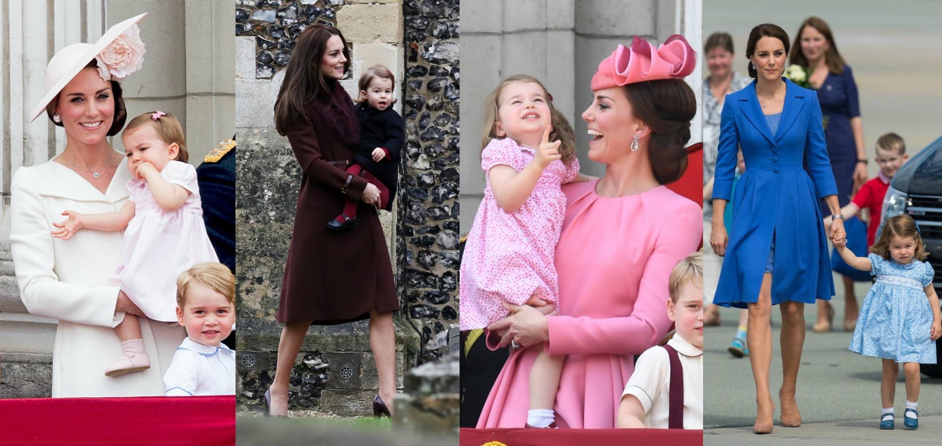 Kate Middleton et Charlotte de Cambridge : une mère et sa fille très assorties