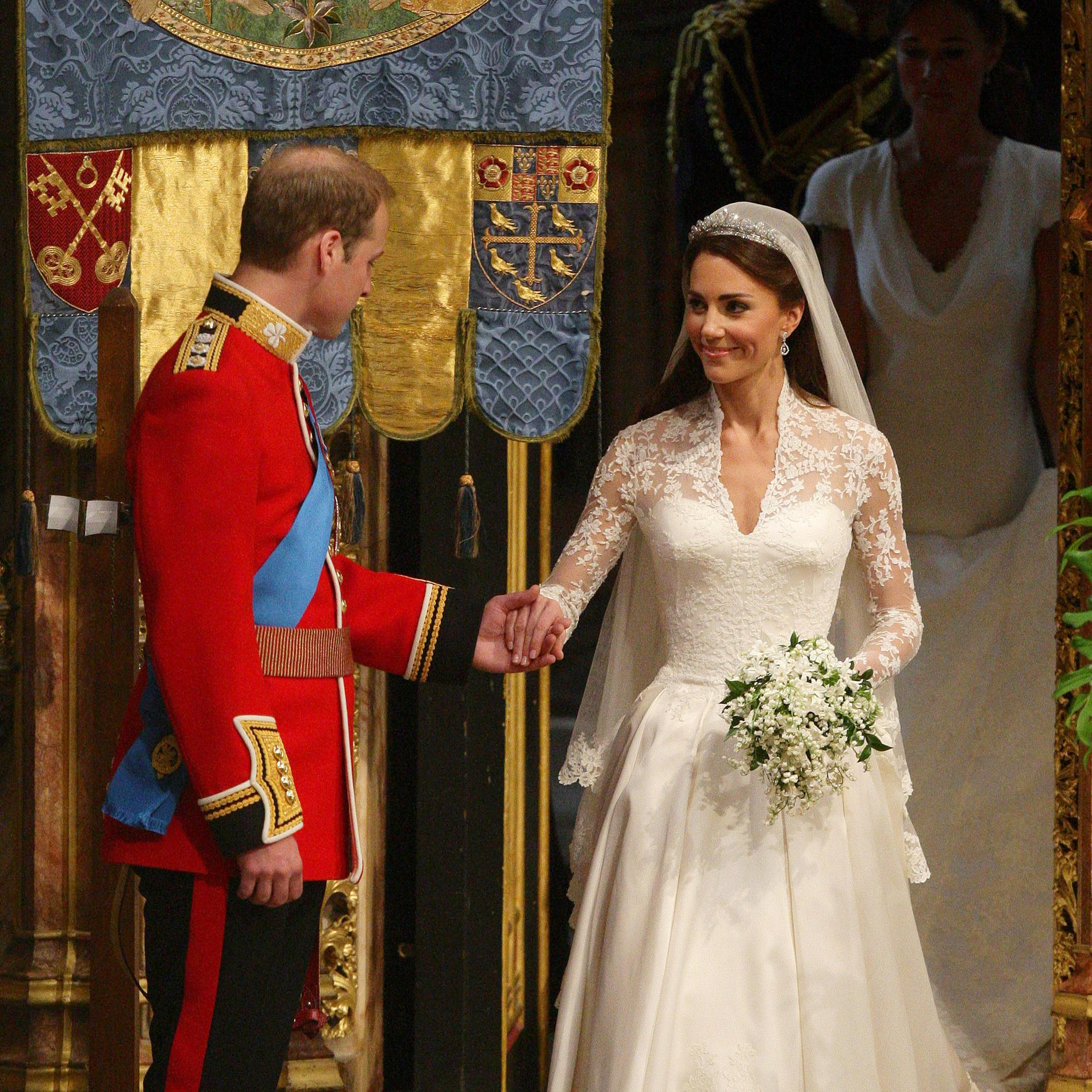 La robe de mariée de Kate Middleton