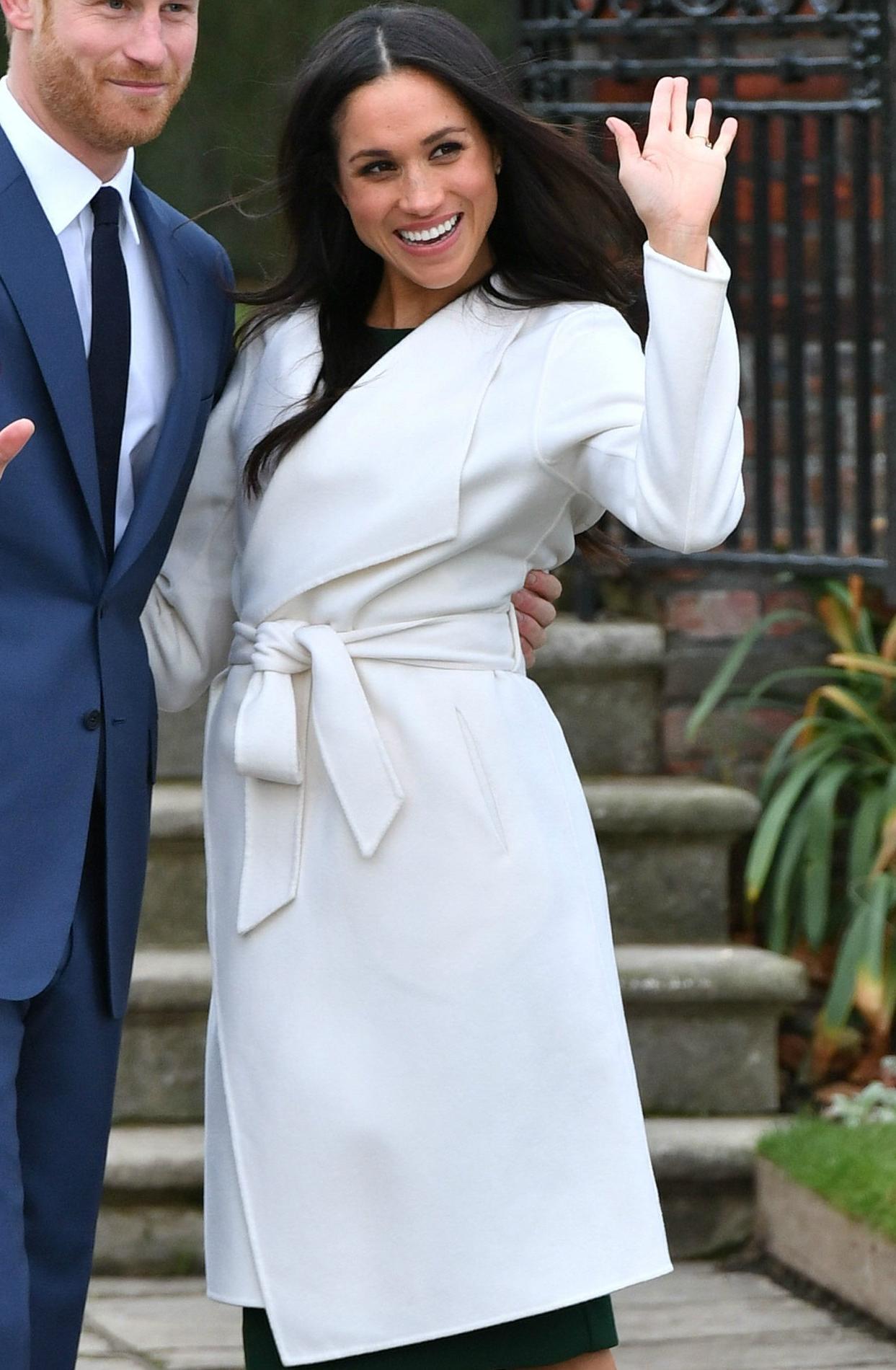 Le manteau blanc de Meghan Markle déjà en rupture de stock