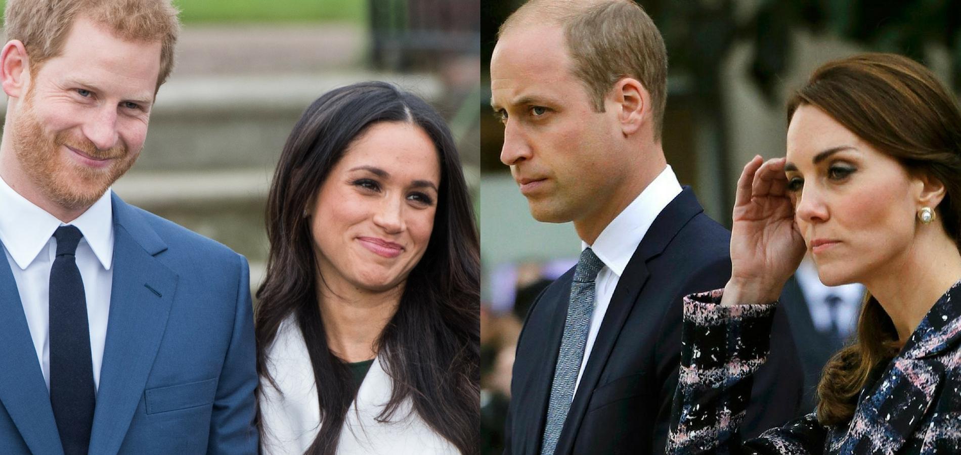 Harry et Meghan VS William et Kate : battle royale