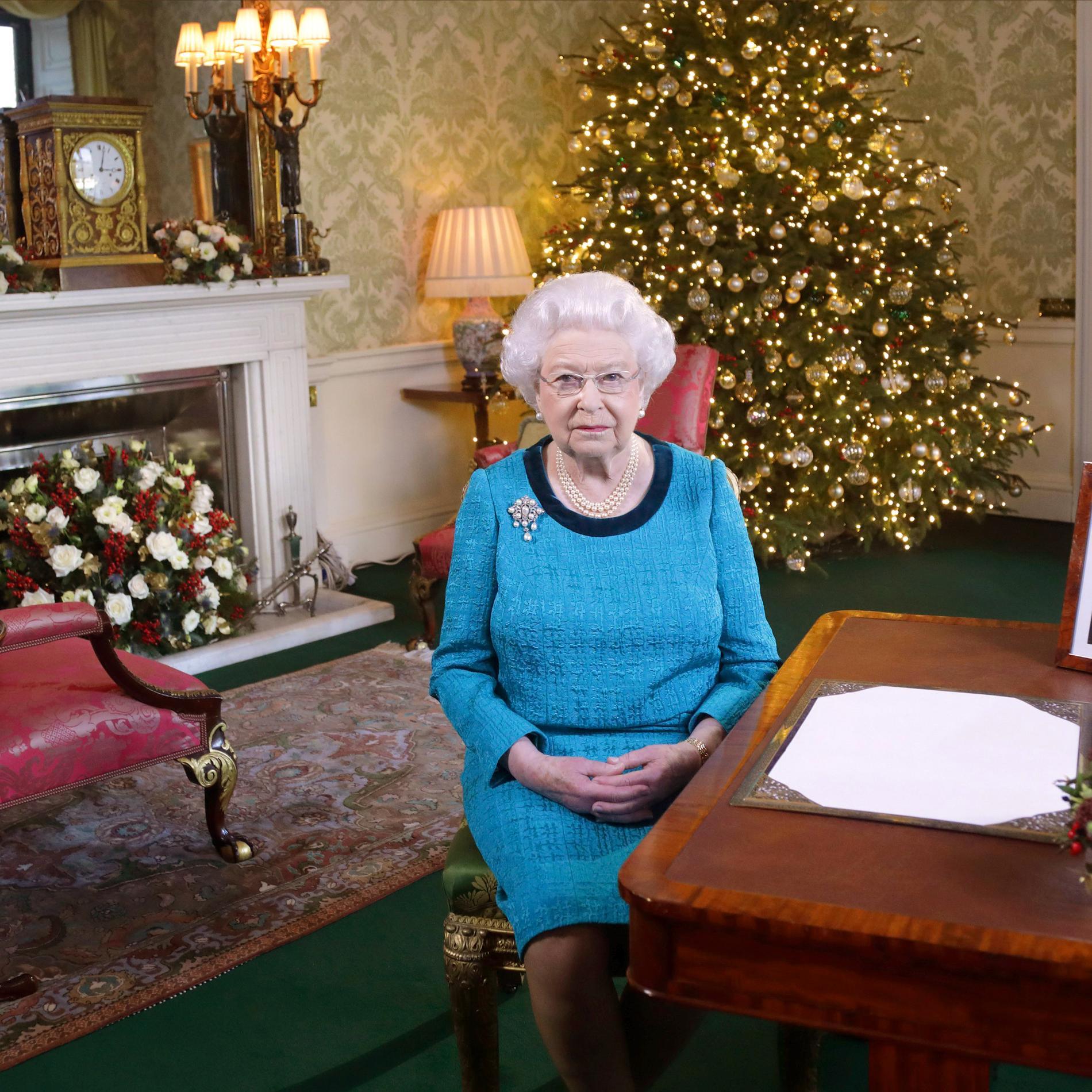 Noël est arrivé à Buckingham Palace