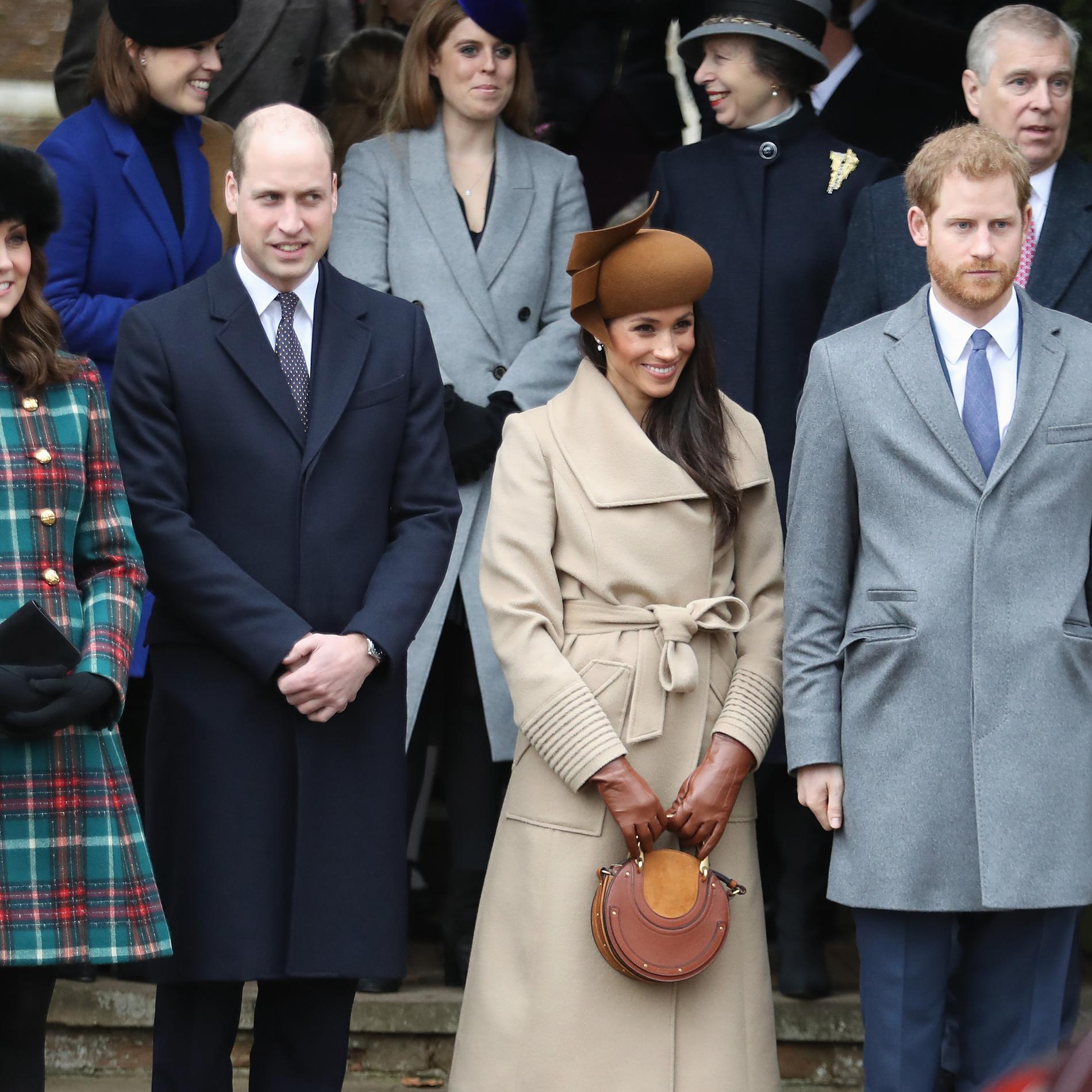 La famille royale anglaise