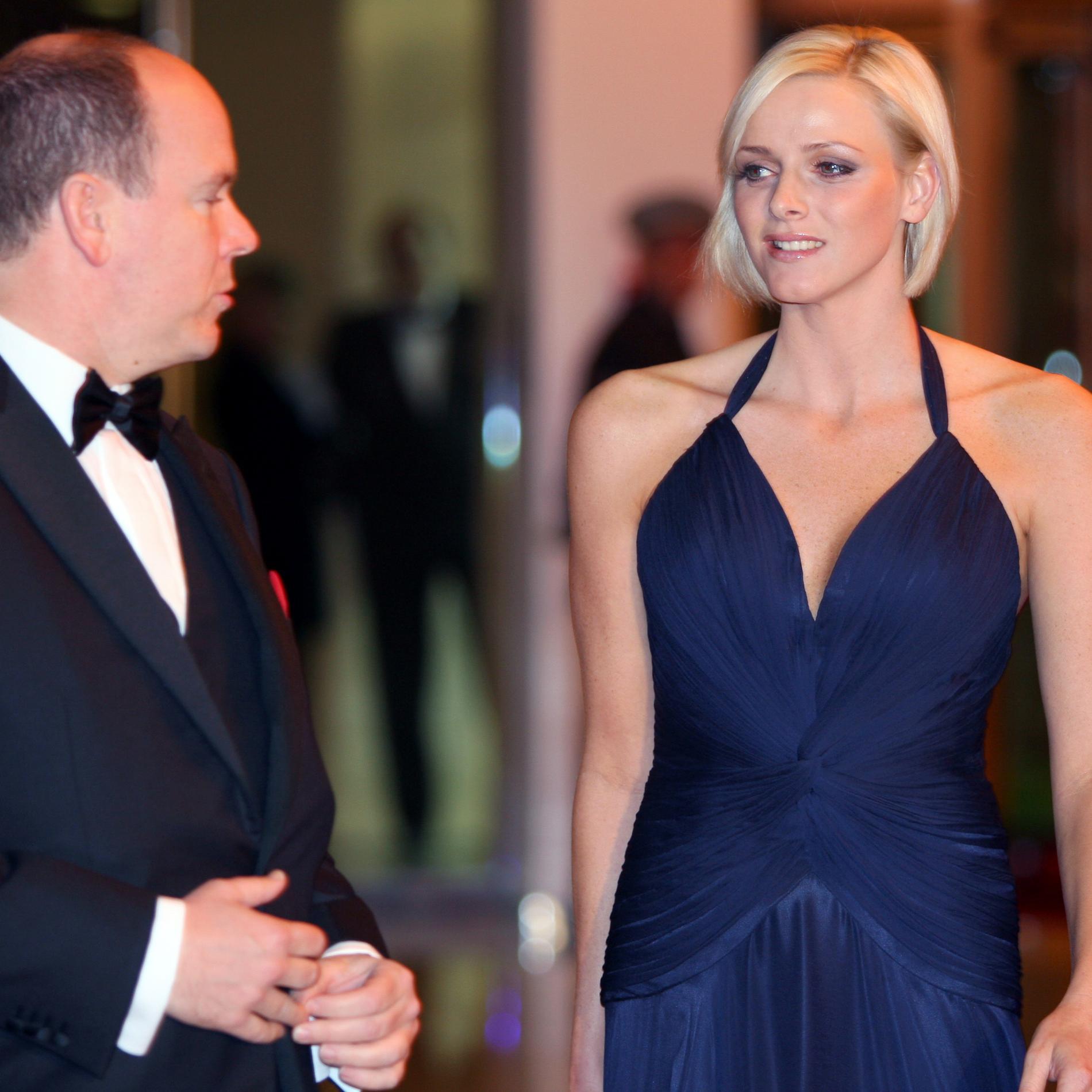 Le prince Albert et la princesse Charlene de Monaco
