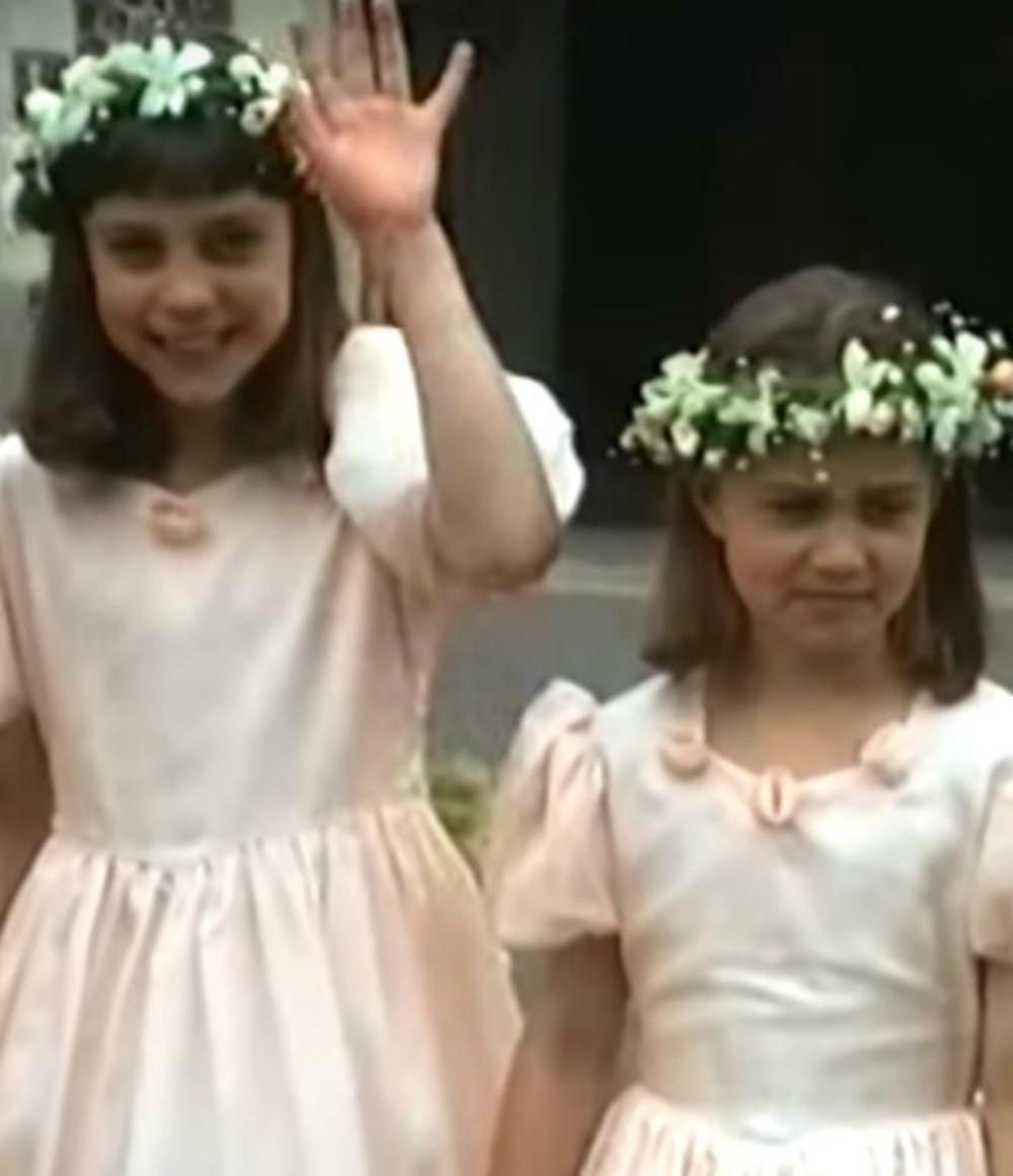 En vidéo, Kate Middleton parfaite demoiselle d'honneur à 9 ans