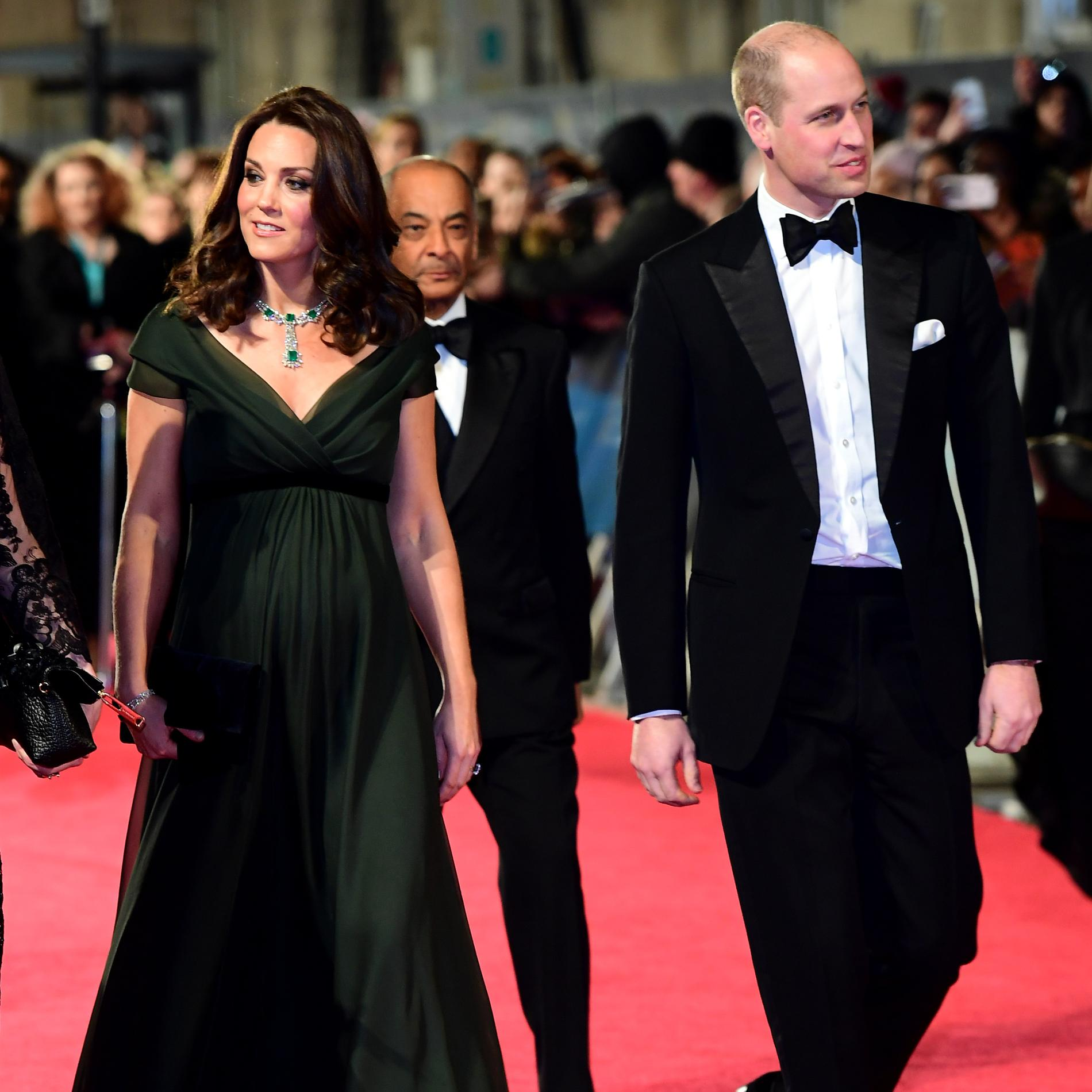 Bafta 2018 : les actrices en robes noires pour Time's Up - Kate Middleton et le prince William