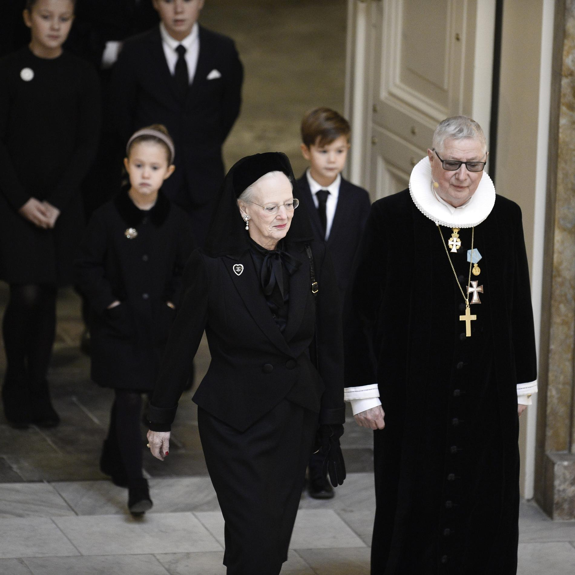 Les funérailles d'Henrik de Danemark