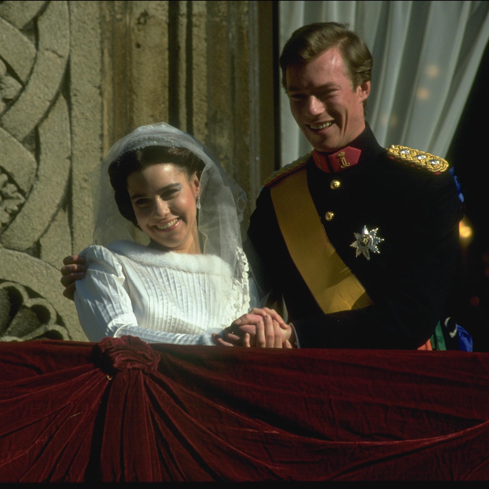 Le mariage de Henri de Luxembourg