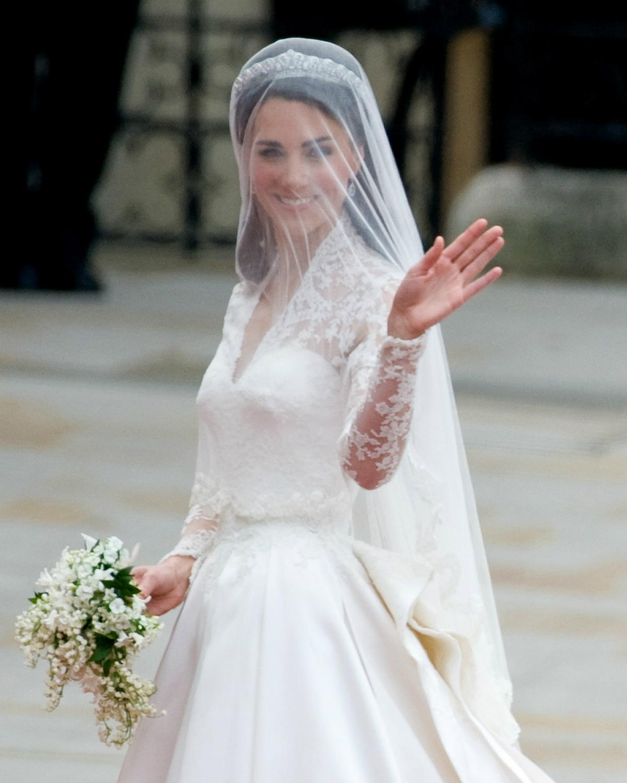 H&M recrée la robe de mariée de Kate Middleton dans une version accessible