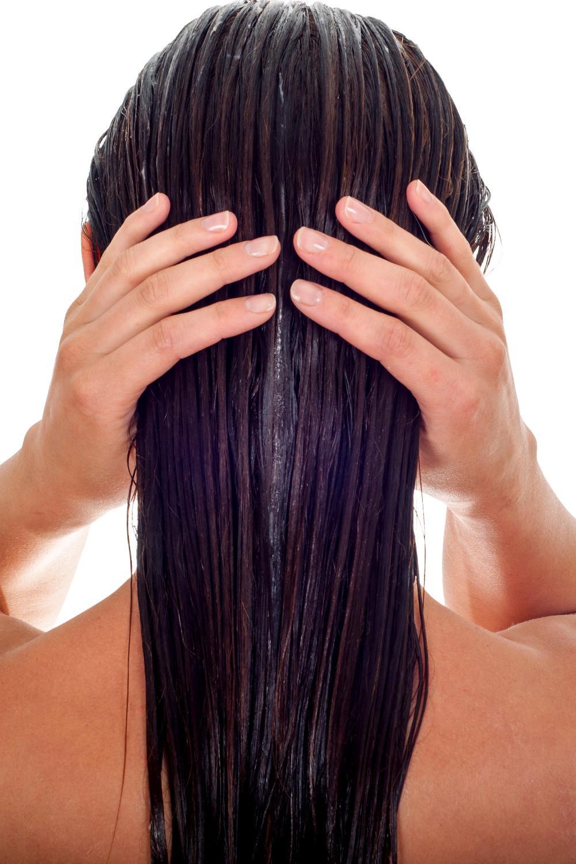 huile de ricin sur les cheveux