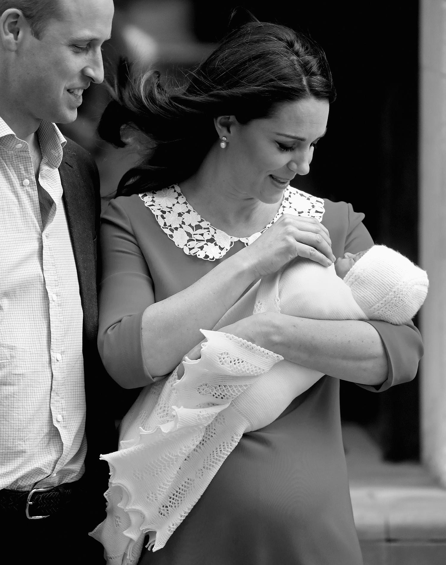 Bienvenue à Son Altesse Royale le prince Louis de Cambridge, un prénom inattendu