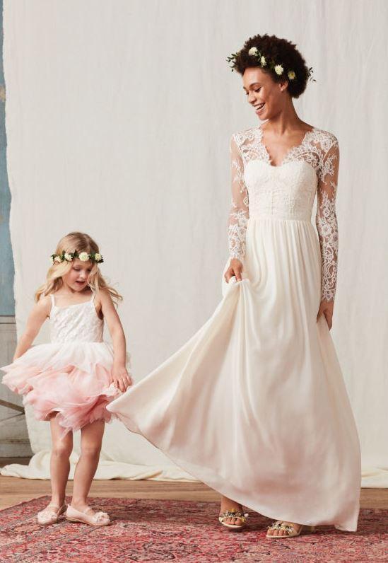 Une réplique de la robe de mariée de Kate Middleton chez H&M