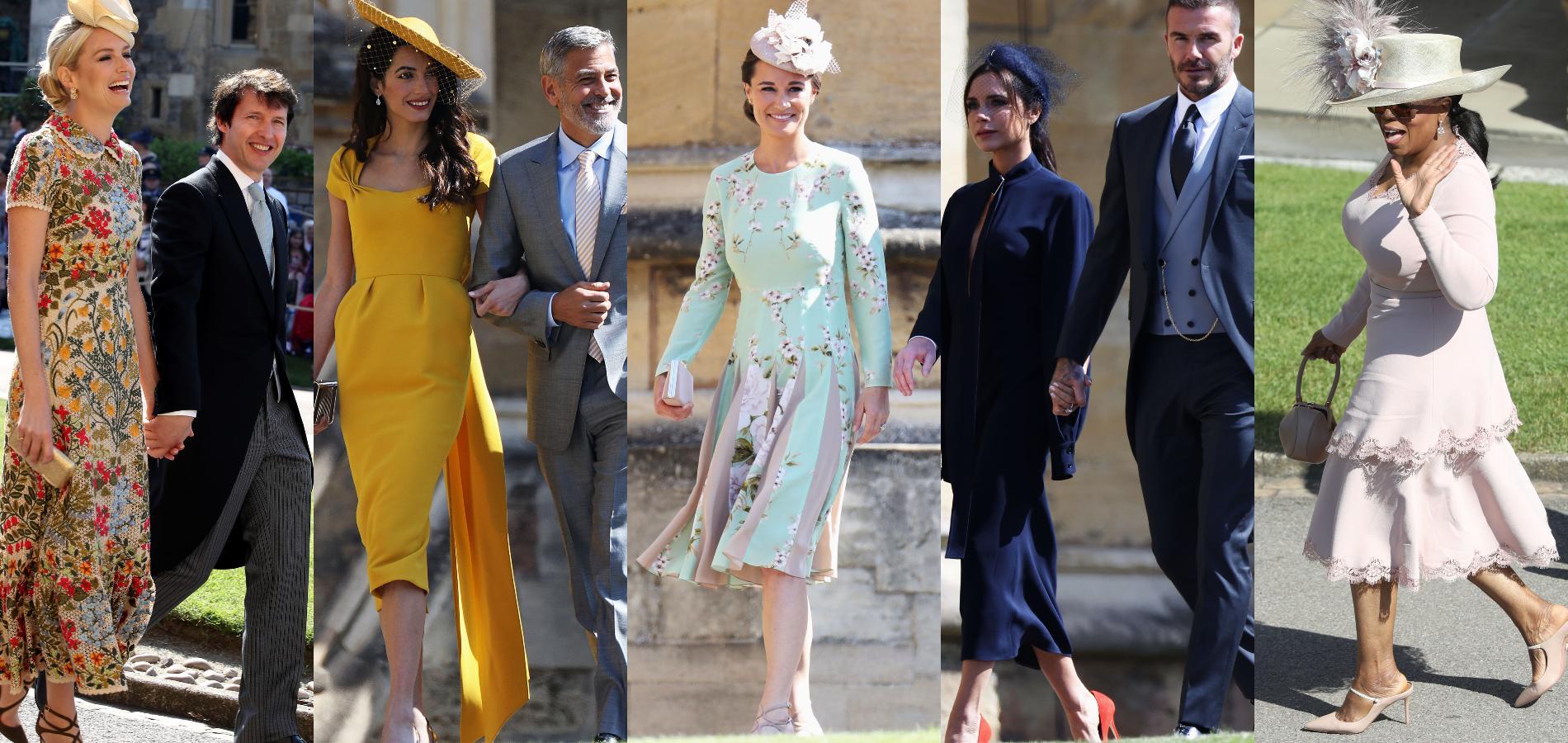 Hollywood VS aristocratie britannique: le match mode des invités au mariage royal