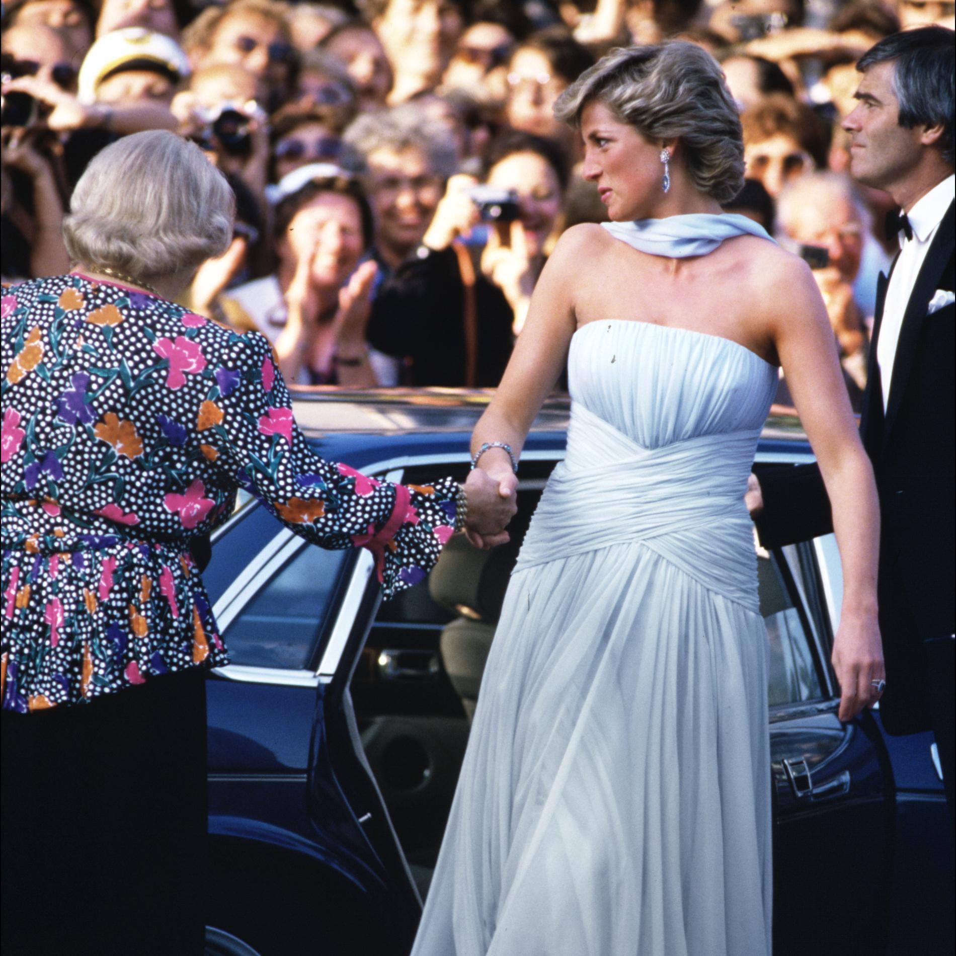 Lady Diana au Festival de Cannes