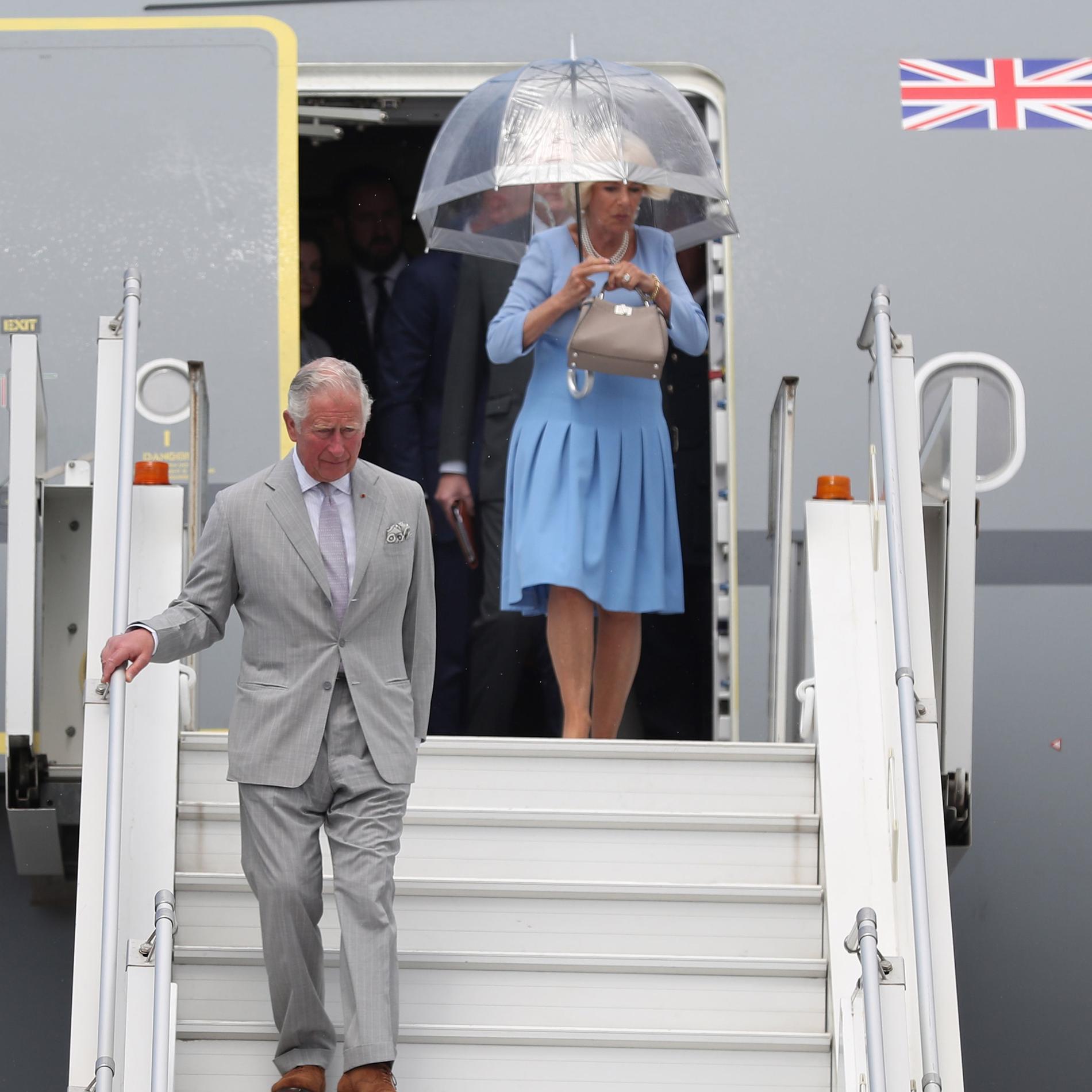 Le prince Charles et Camilla Parker-Bowles à Nice