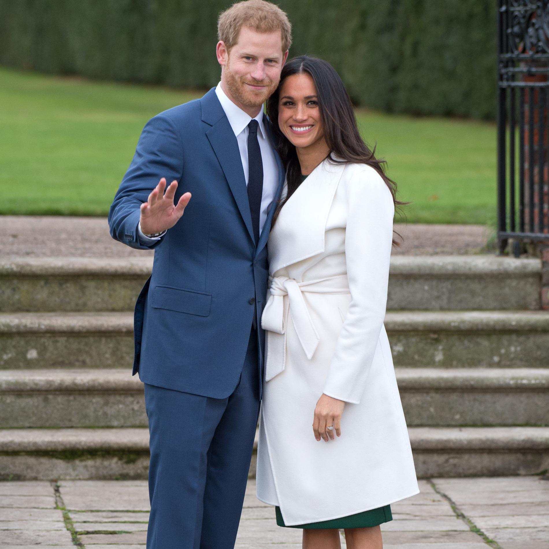 Meghan Markle : 15 looks d'une duchesse en devenir - Son premier manteau blanc