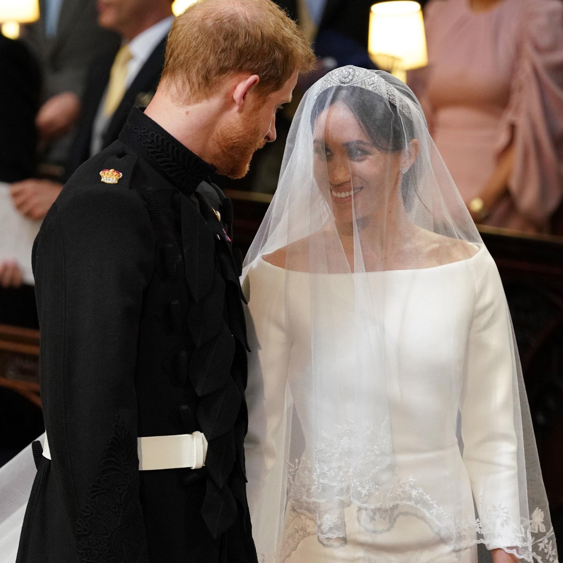 Prince Harry et Meghan Markle mariés