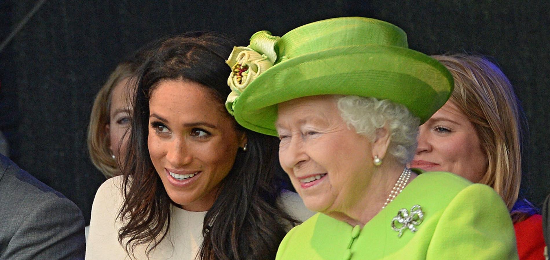 La reine Elizabeth II et Meghan Markle s'offrent un premier voyage officiel en duo