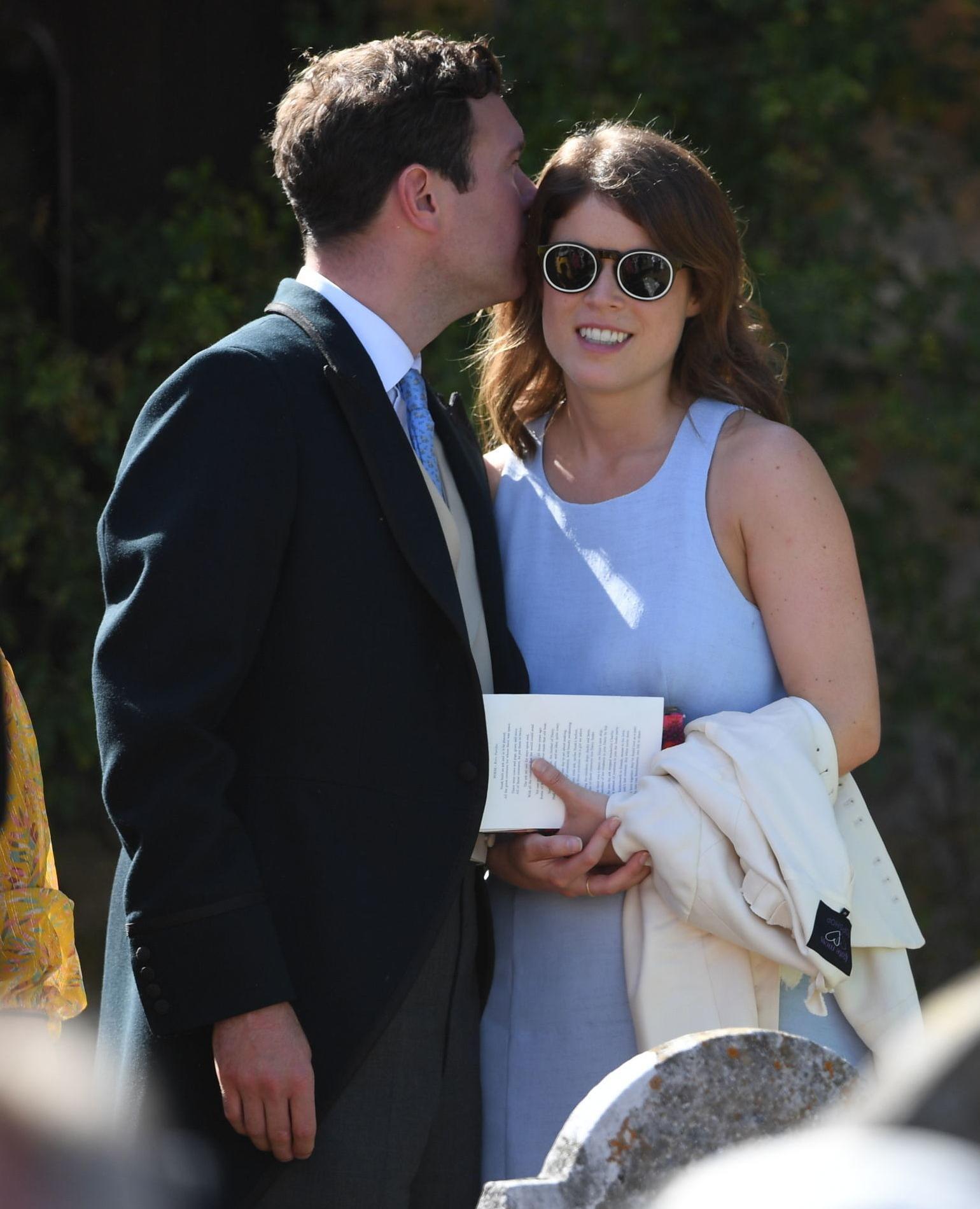 La princesse Eugenie et son fiancé Jack Brooksbank