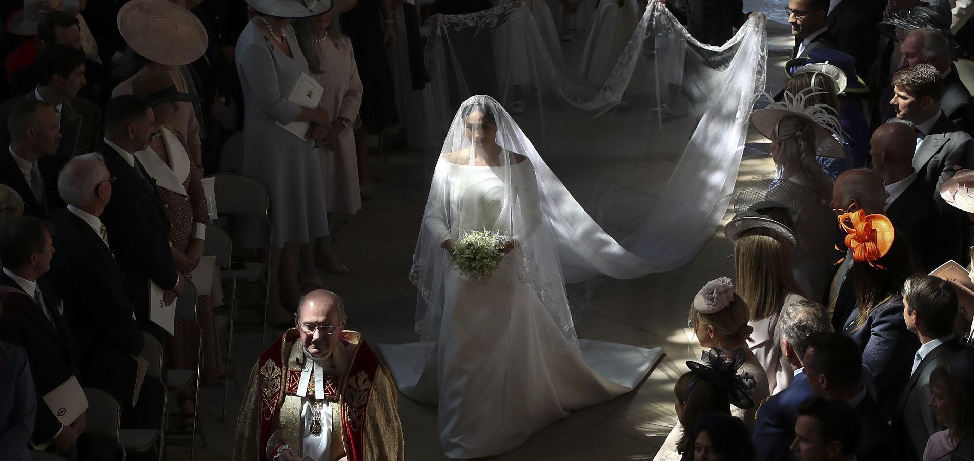 Meghan Markle révèle un détail surprenant et romantique sur sa robe de mariée