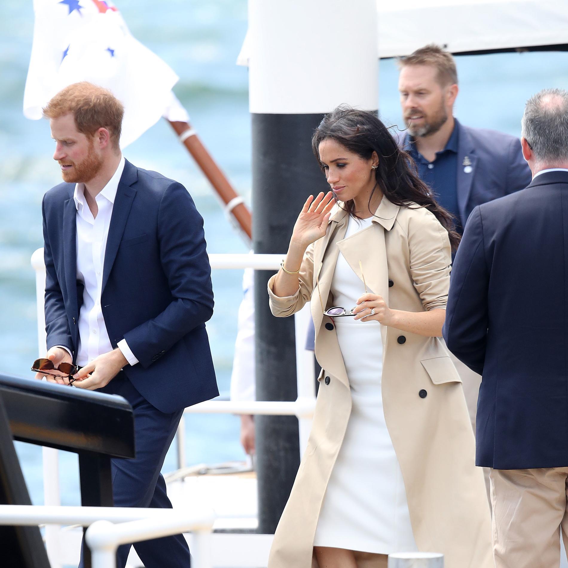 L'épopée du prince Harry et de Meghan Markle en Australie