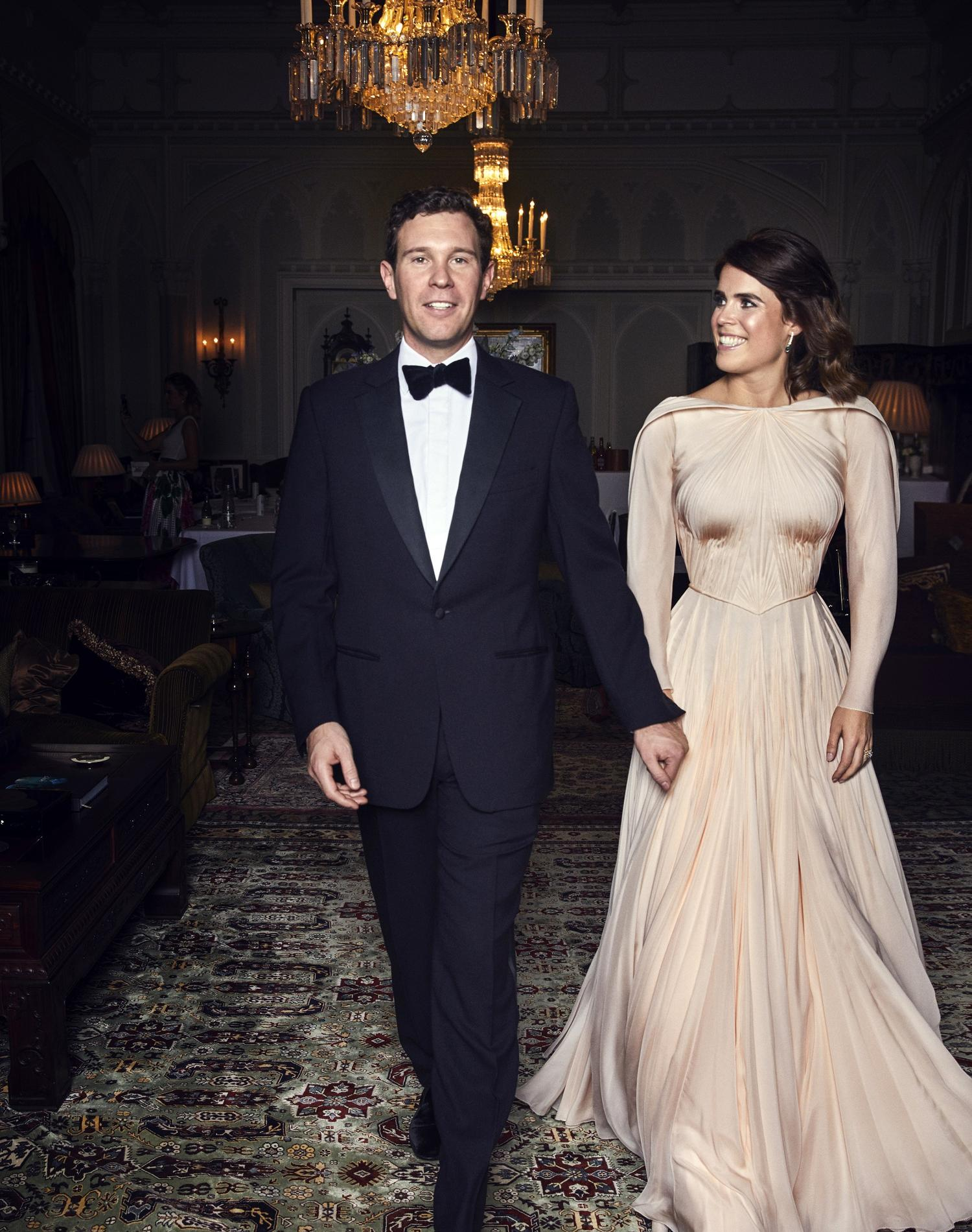 La robe de soirée de la princesse Eugenie